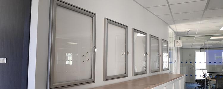 Signalétique intérieure pour un bâtiment appartenant à ENEDIS
