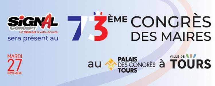 Signal Concept présent au 73ème Congrès des Maires de Tours