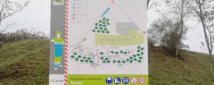Plan d'information pour le site de Suez à Sonzay (37)