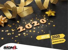 Bonne année 2020 de la part de toute l'équipe