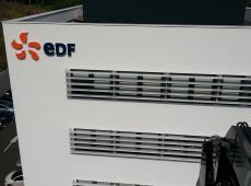 Réalisation d'enseignes et de signalétique pour EDF