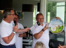 Plato Pano en trophée du tournoi TVB Golf Trophy