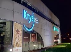 Enseigne lumineuse pour Krys et Entendre à Saint Cyr sur Loire