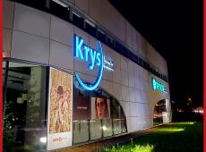 Enseignes lumineuses pour le magasin Krys et Entendre de Saint-Cyr-sur-Loire (37)