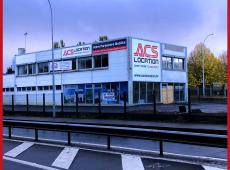 Réalisation des enseignes et panneaux pour la nouvelle agence ACS LOCATION de Tours Nord (37)