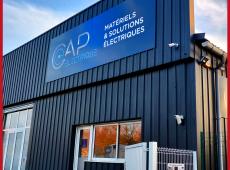 Enseigne pour l'agence Cap Électrique de Tours Nord (37)