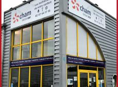 Panneaux et enseigne pour l'agence CHAM de Tours Nord (37)