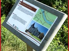 Pupitre en SC'PACK pour le sentier des Lavandières à Véretz (37)