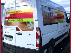 Covering du camion Touraine Revêtement