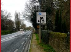 Panneaux police pour la ville de Savonnières (37)