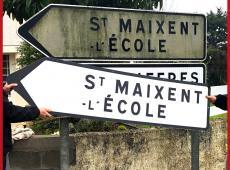 Resurfaçage de panneaux directionnels dans les Deux-Sèvres (79)